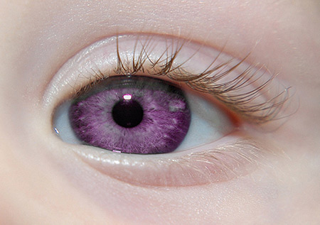 Born With Violet Eyes